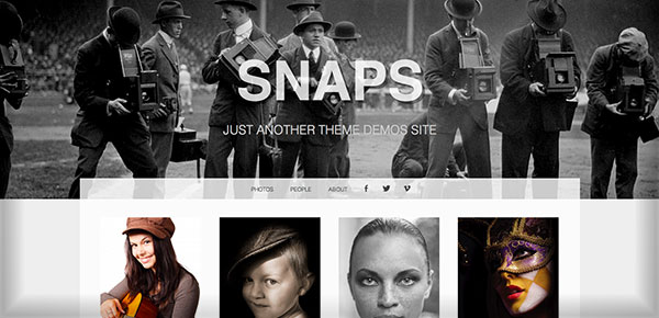 Theme WordPress Gratuit 2013 - Snaps