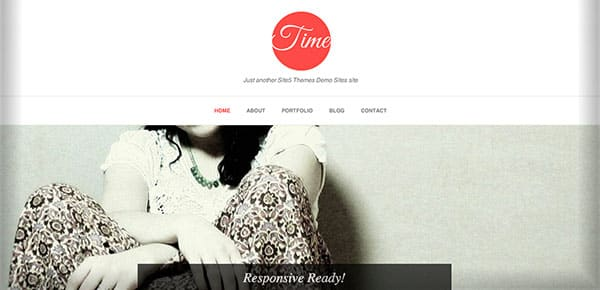 Theme WordPress Gratuit 2013 - Time