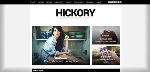 Theme WordPress - Hickory
