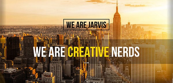 Theme WordPress - Jarvis