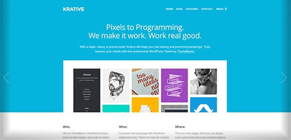 Theme WordPress - Krative