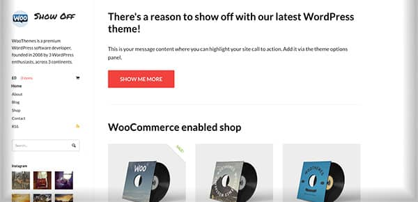 Theme WordPress - Showoff