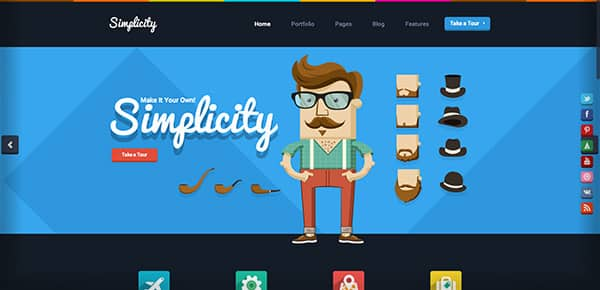 Theme WordPress - Simplicity