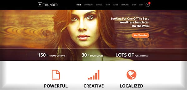 Theme WordPress - Thunder