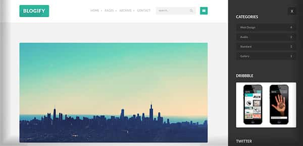 Template WordPress - Blogify