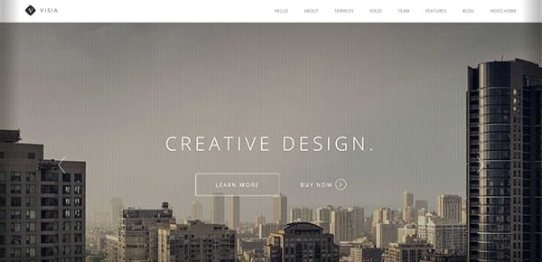 Template WordPress - Visia
