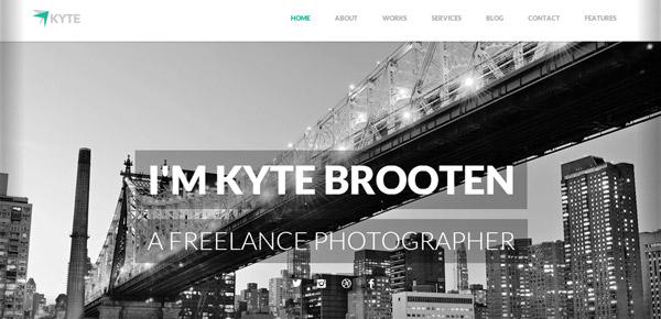 Thème WordPress - Kyte