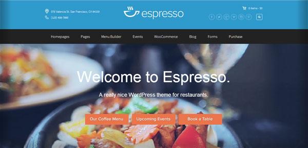 Thème WordPress - Espresso