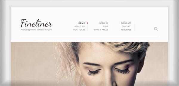 Thème WordPress - Fineliner