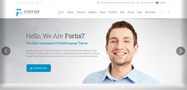 Thème WordPress - Fortis 7