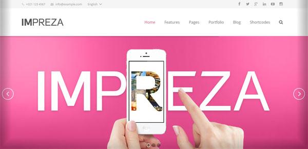 Thème WordPress - Impeza