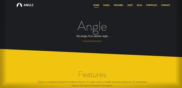 Thème WordPress - Angle
