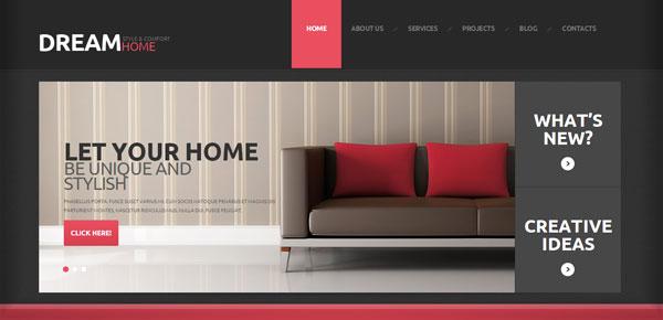 Thème WordPress - Dream Home
