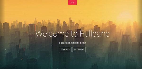 Thème WordPress - Fullpane