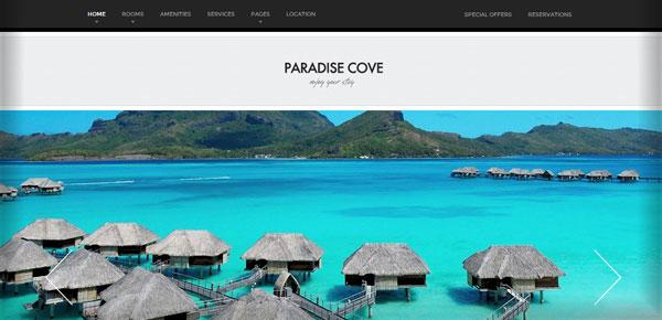 Thème WordPress - Paradise Cove