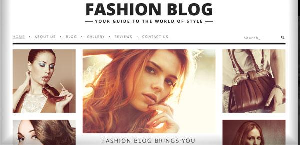 Thème WordPress - Fashion Blog