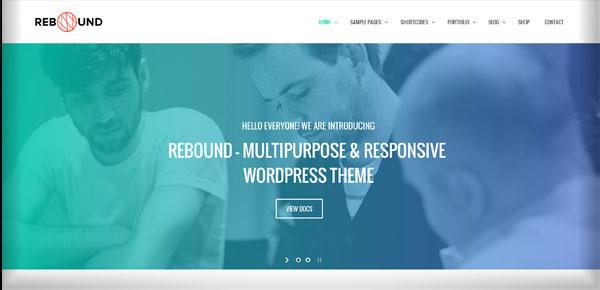 Thème WordPress - Rebound