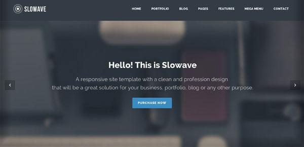 Thème WordPress - Slowave
