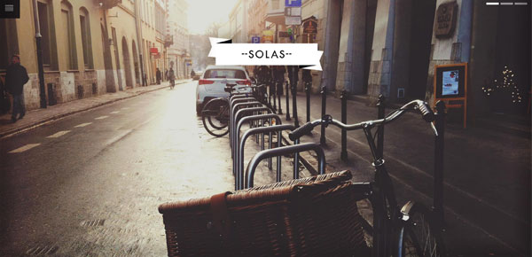 Thème WordPress - Solas