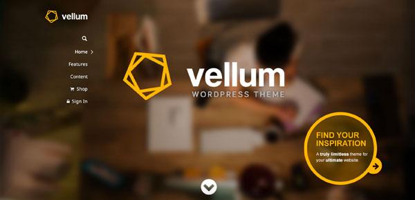 Thème WordPress - Vellum