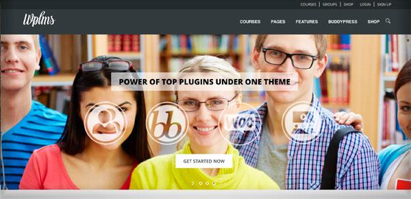 Thème WordPress - WPLMS