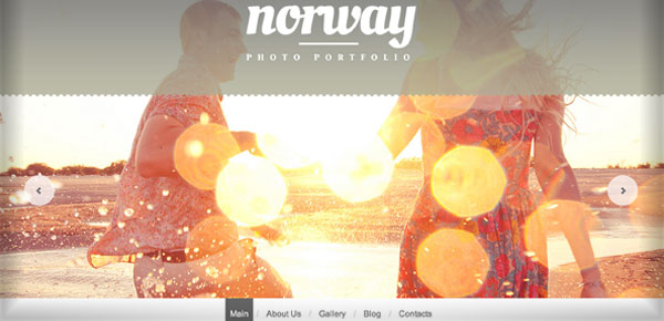 Thème WordPress - Norway