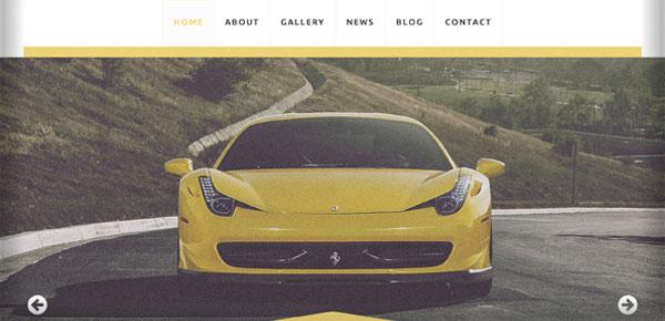 Thème WordPress - Motors