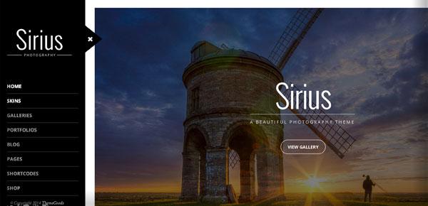 Thème WordPress - Sirius