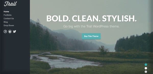 Theme WordPress - Ttrail