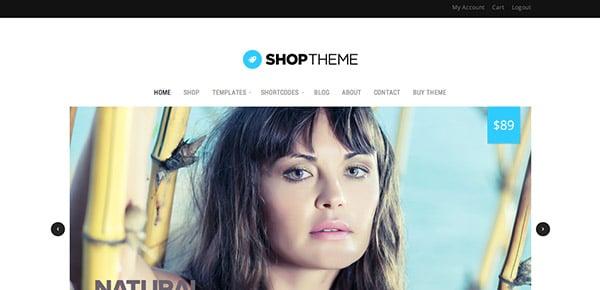 Découvrez le thème WordPress Responsive Shop