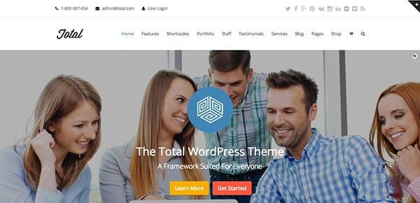 Découvrez le thème WordPress Responsive Total