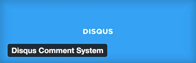 Plugin Disqus pour WordPress