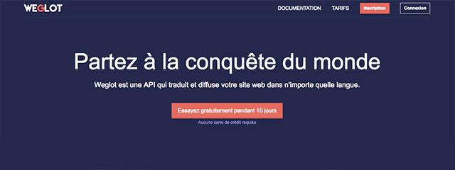 WeGlot, multilingue en SaaS