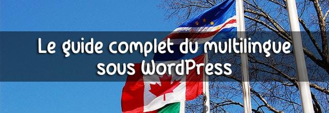 comment faire un site multilingue avec wordpress