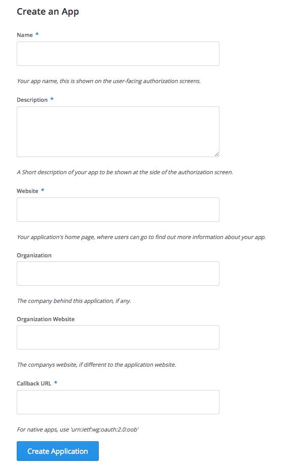 Créer une application Buffer