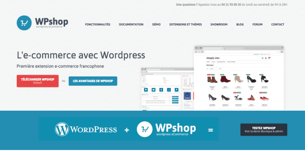 WP Shop WordCamp Lyon