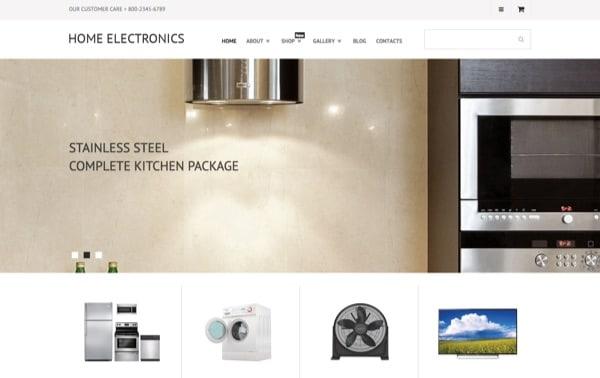Thème WP Home Electronics