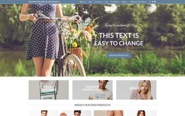 Flatsome, un thème WordPress eCommerce