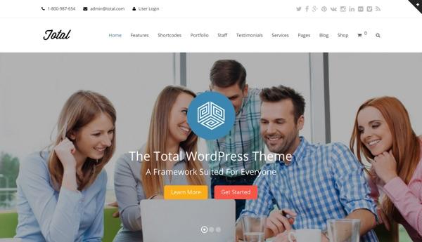 Total, un thème WordPress multifonction