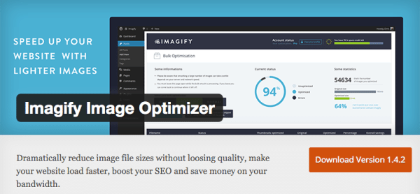 Plugin WordPress Imagify