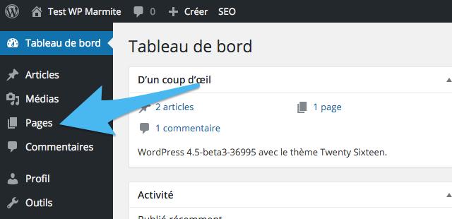 L'administration des éditeurs dans WordPress