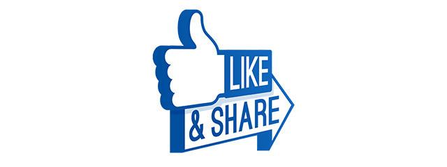 Bouton Like de Facebook