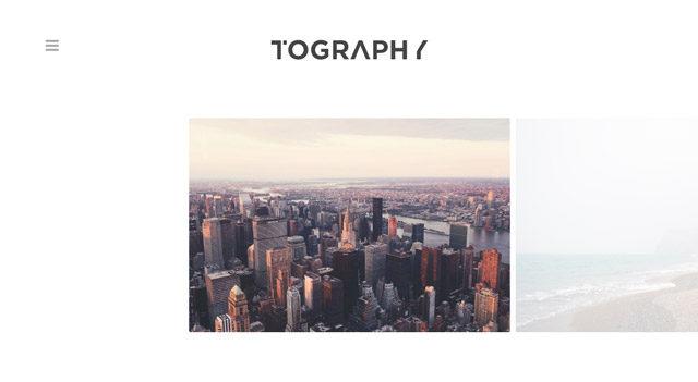 Tography, un thème WordPress minimaliste