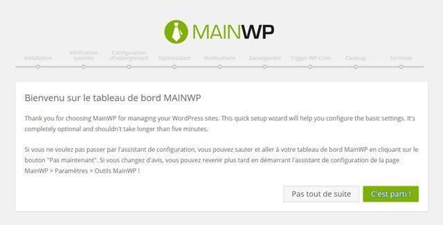 Installateur Mainwp