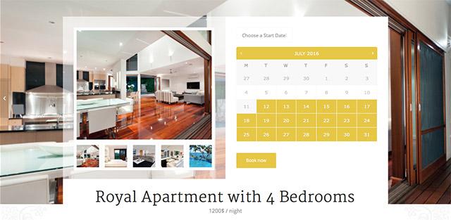 Enfold propose même une intégration de WooCommerce Bookings