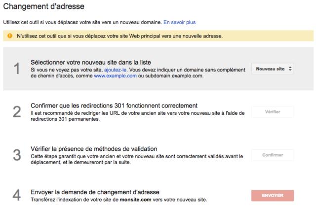 Site HTTPS dans Google Search Console
