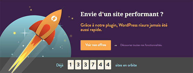 WP-Rocket, les experts de la performance