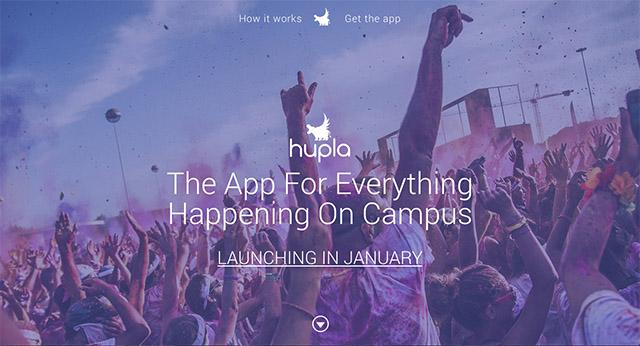 Exemple de site avec Divi : Huppla
