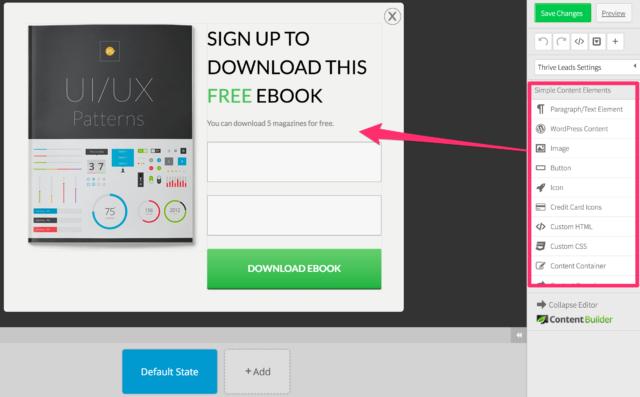 thrive-plugin-editeur-popup