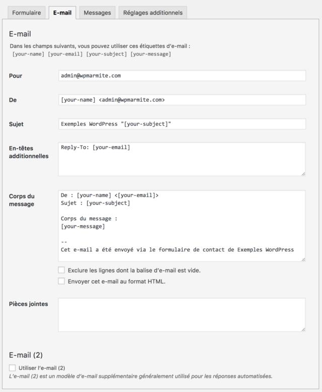 E-mail de rencontre en ligne demandant une date